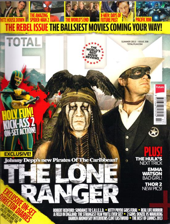 Total Film July 2013 Front Cover