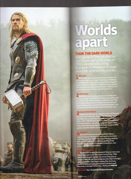 Total Film July 2013 Thor
