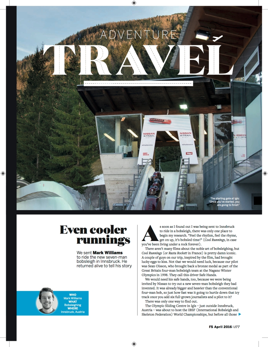 Travel articles for FS Magazine